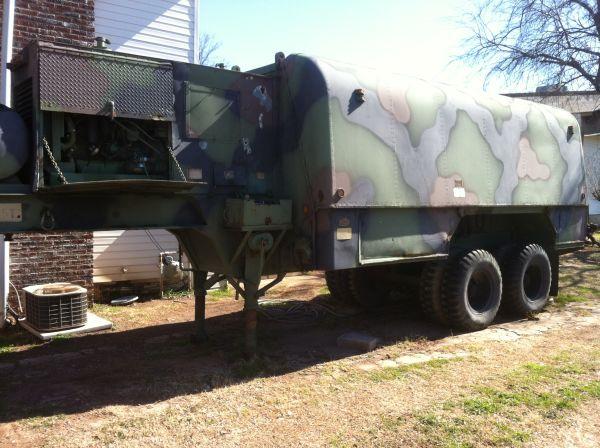 Mobile Air Compressor >> Mobile Military Machine Shop