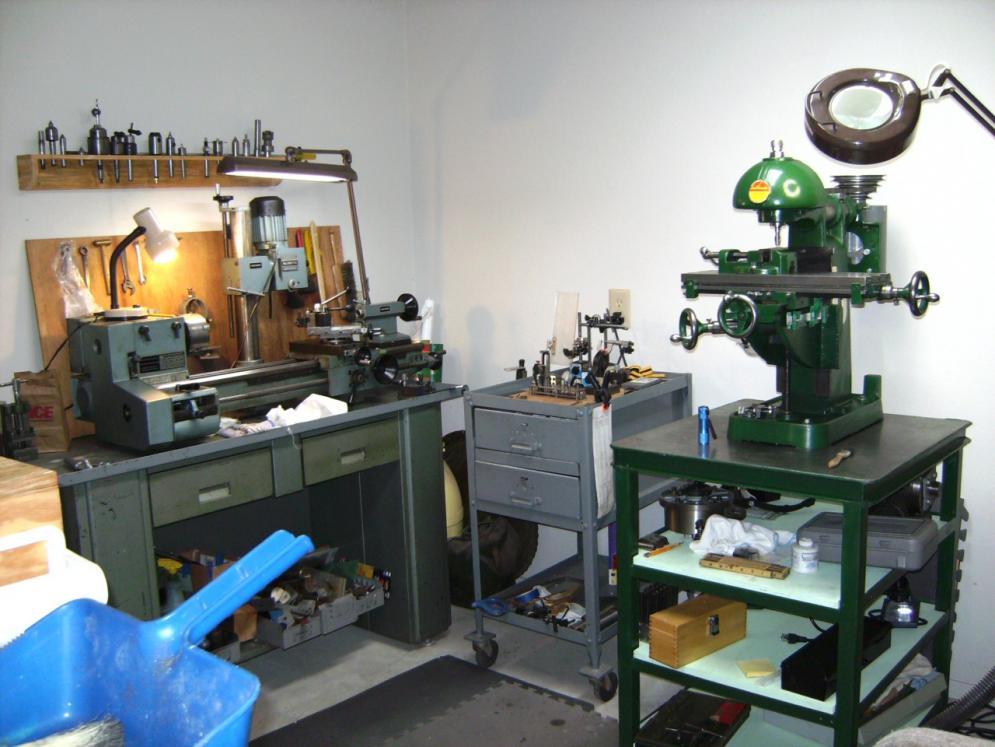 Benchmaster Milling Machine