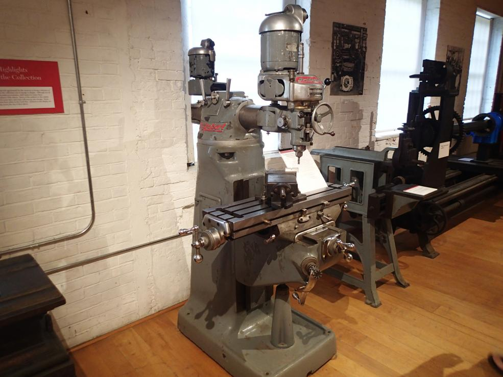 Way Brothers Ford >> Bridgeport Serial Number 1 - Picture from the American ...