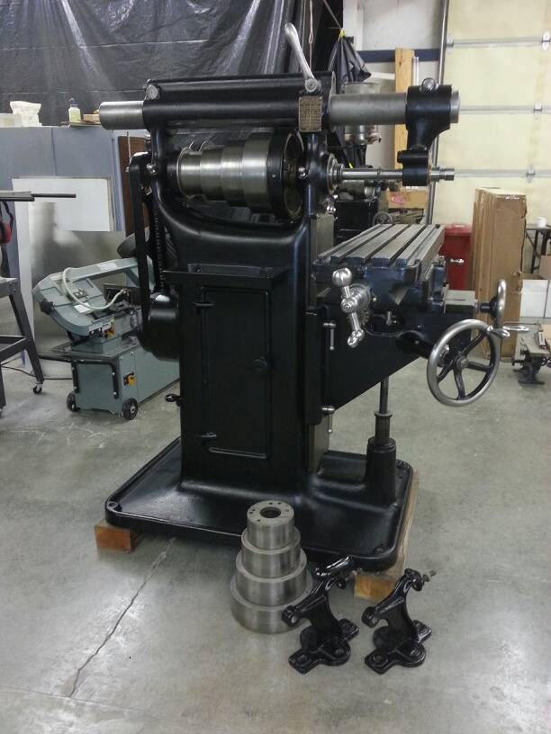 Brown Amp Sharpe Milling Machine For Sale