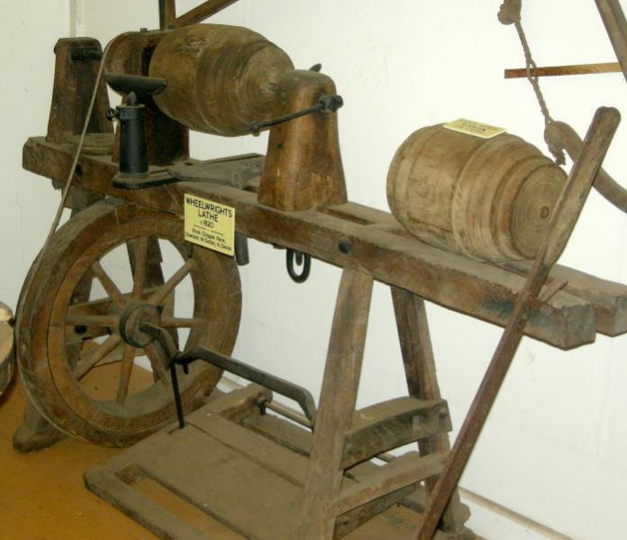 Industrial lathes of the late 18th/early 19th century