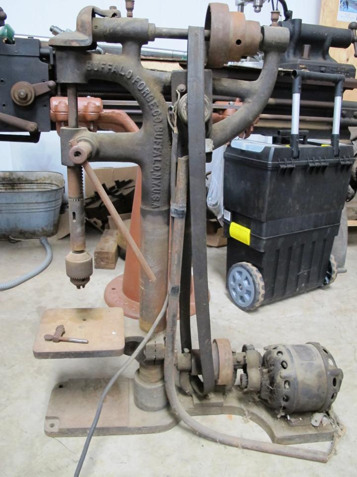 Buffalo Forge Camel Back 10 Inch Drill Press