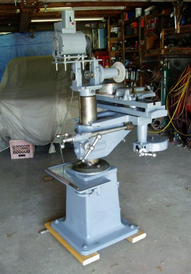 Antique Gear Cutting And Cutter Grinding Machines