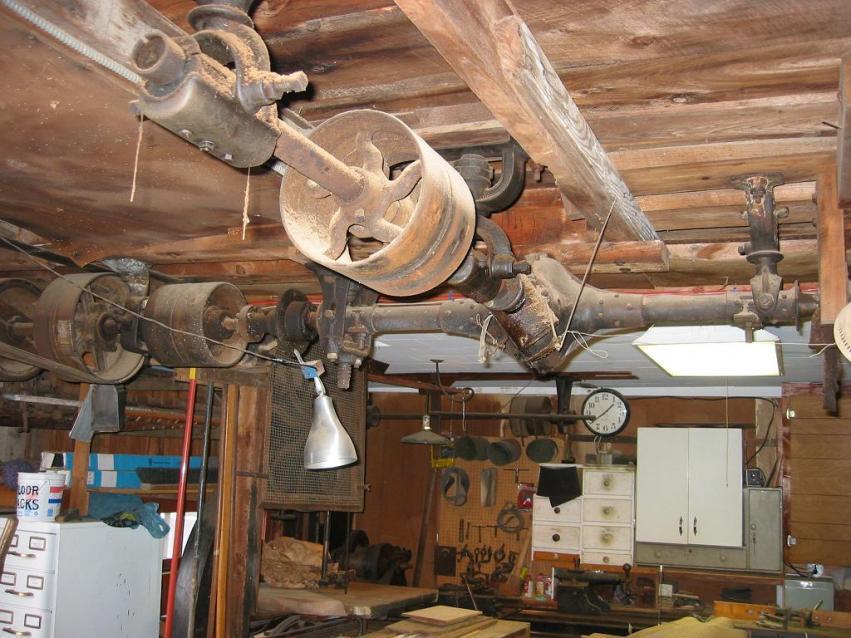 Machinist Tools For Sale >> Yankee Inginuity - Line shaft setup