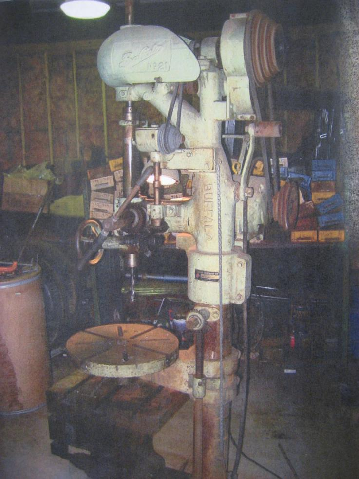 Really nice big Buffalo Forge drill press - cheap but no space