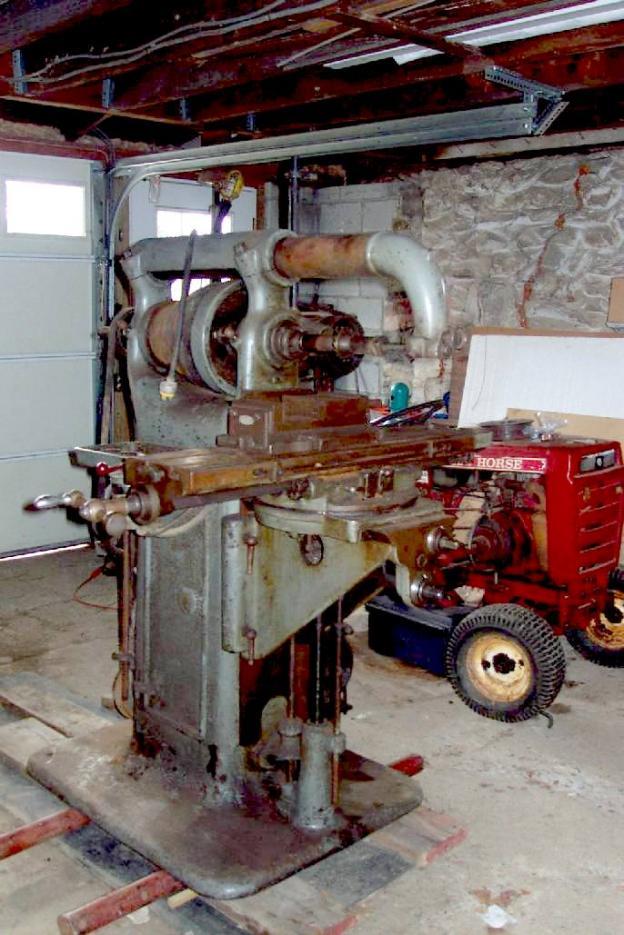 Horizontal Milling Machine >> Brown & Sharpe No. 2 universal mill -- anybody here own one?