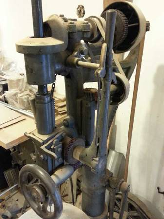 Nice Old Belt Driven Big Drill Press For Sale On Pnw Cl