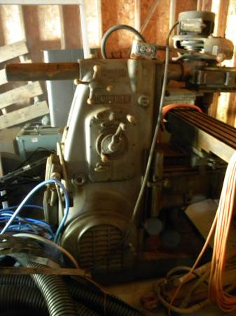 Milwaukee 2H Mill for sale on DC Craigslist (MD)