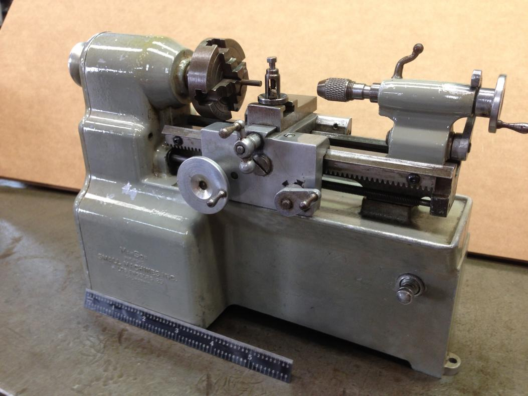 Lathe Machine Toy Lathe Built...