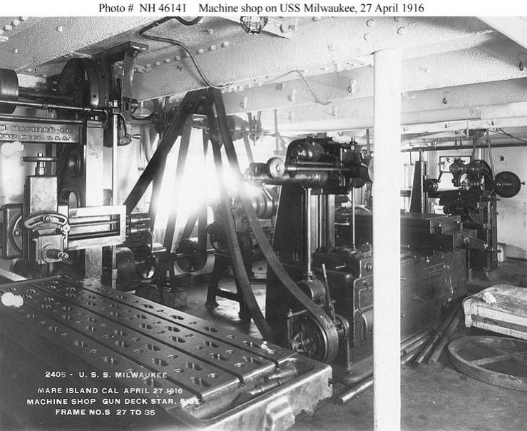 cleveland machine shop