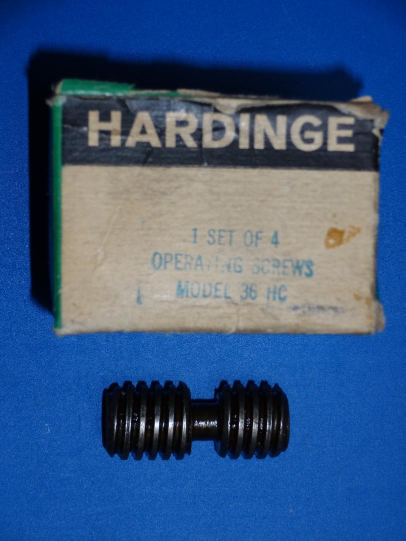 Need Operating Screw For Hardinge 4 Jaw Chuck