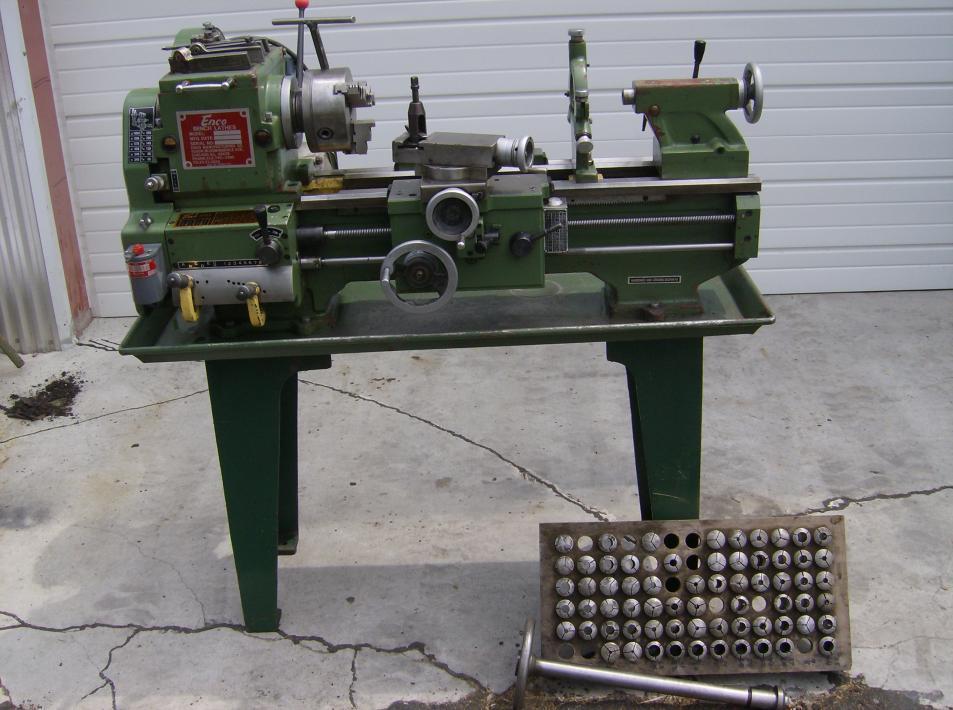 used lathe machine