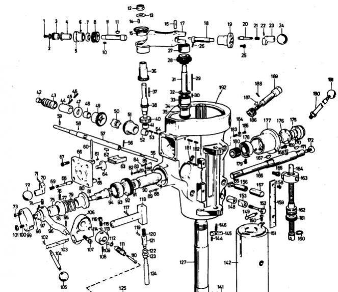 Bridgeport J Head Parts Schematics
