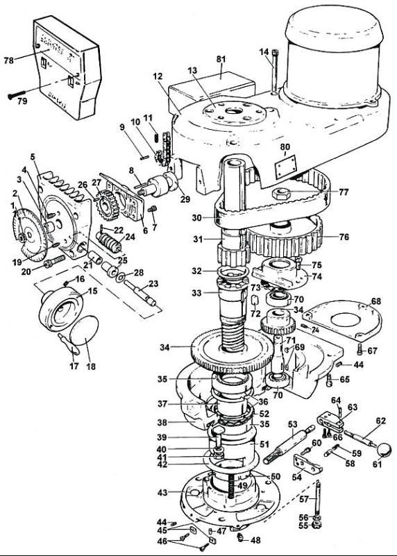 Baldor Motor Repair Parts