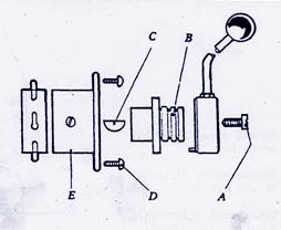 Bridgeport Quill Feed Lever     Manual