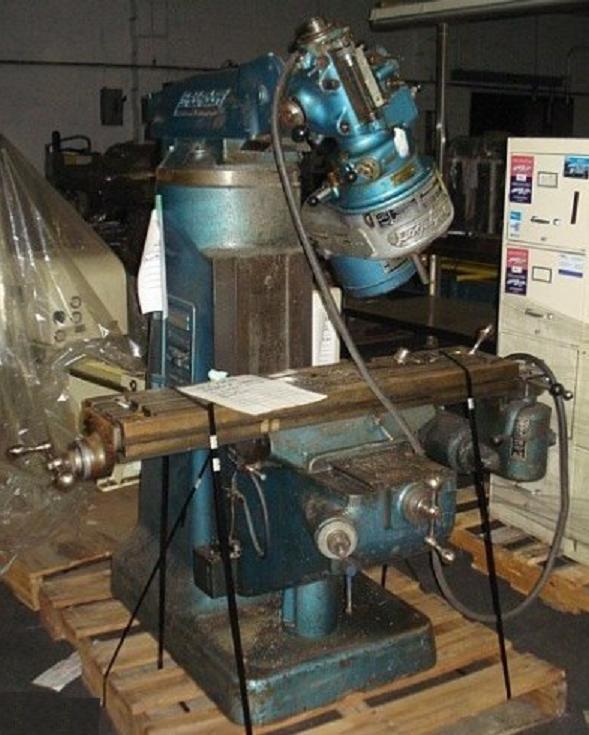 "Rebuild Manual for 1hp Bridgeport /""J Head/"" Mill"