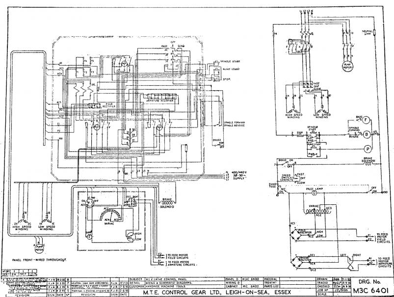 bridgeport mill wiring diagram