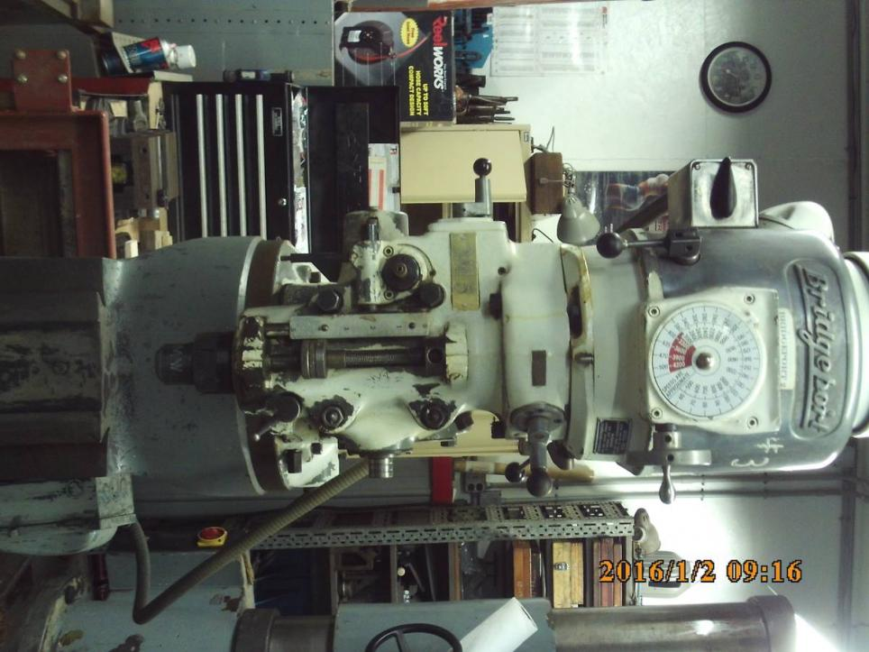 Opinions on Bridgeport Variable Speed Mill with quick change spindle