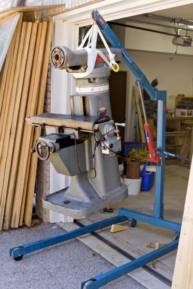 moving a milling machine