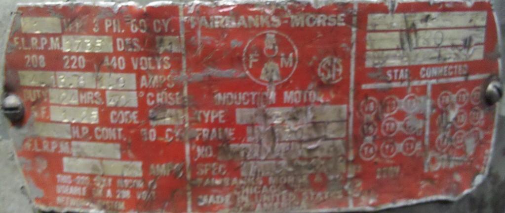 bridgeport j head no junction box 3 wires from motor 220 or 440 motor jpg faceplate jpg