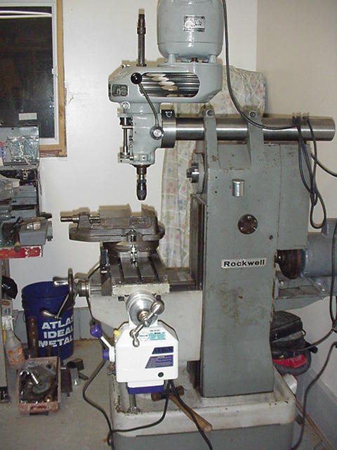 Vertical Milling Machines Lost Creek Machine >> Adapting A Bridgeport M Head To A Rockwell Horizontal Mill It It