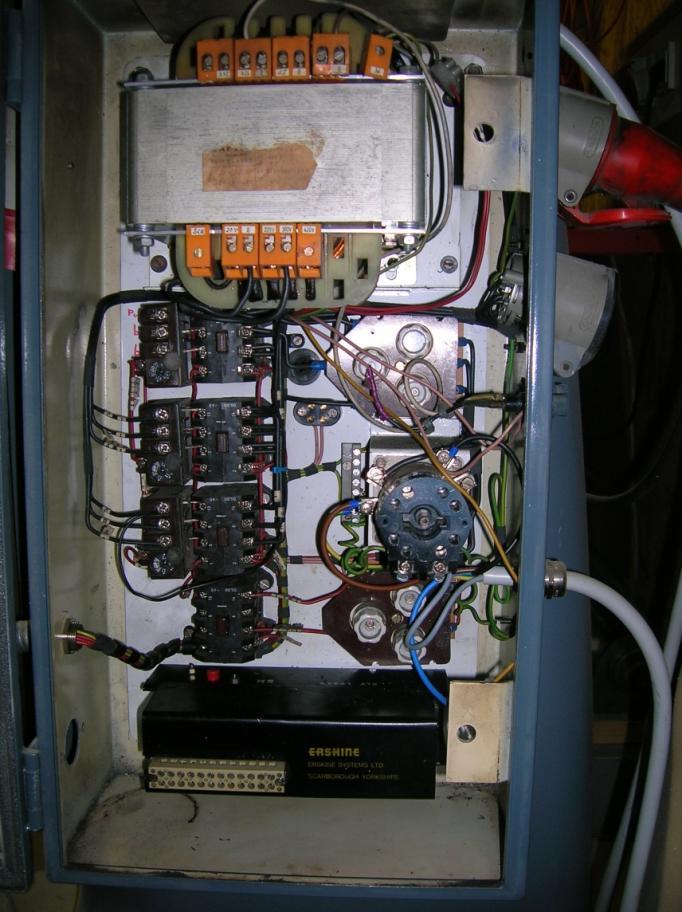 Electrical Wiring Diagram For Bridgeport Milling Machine : Bridgeport series refit need help