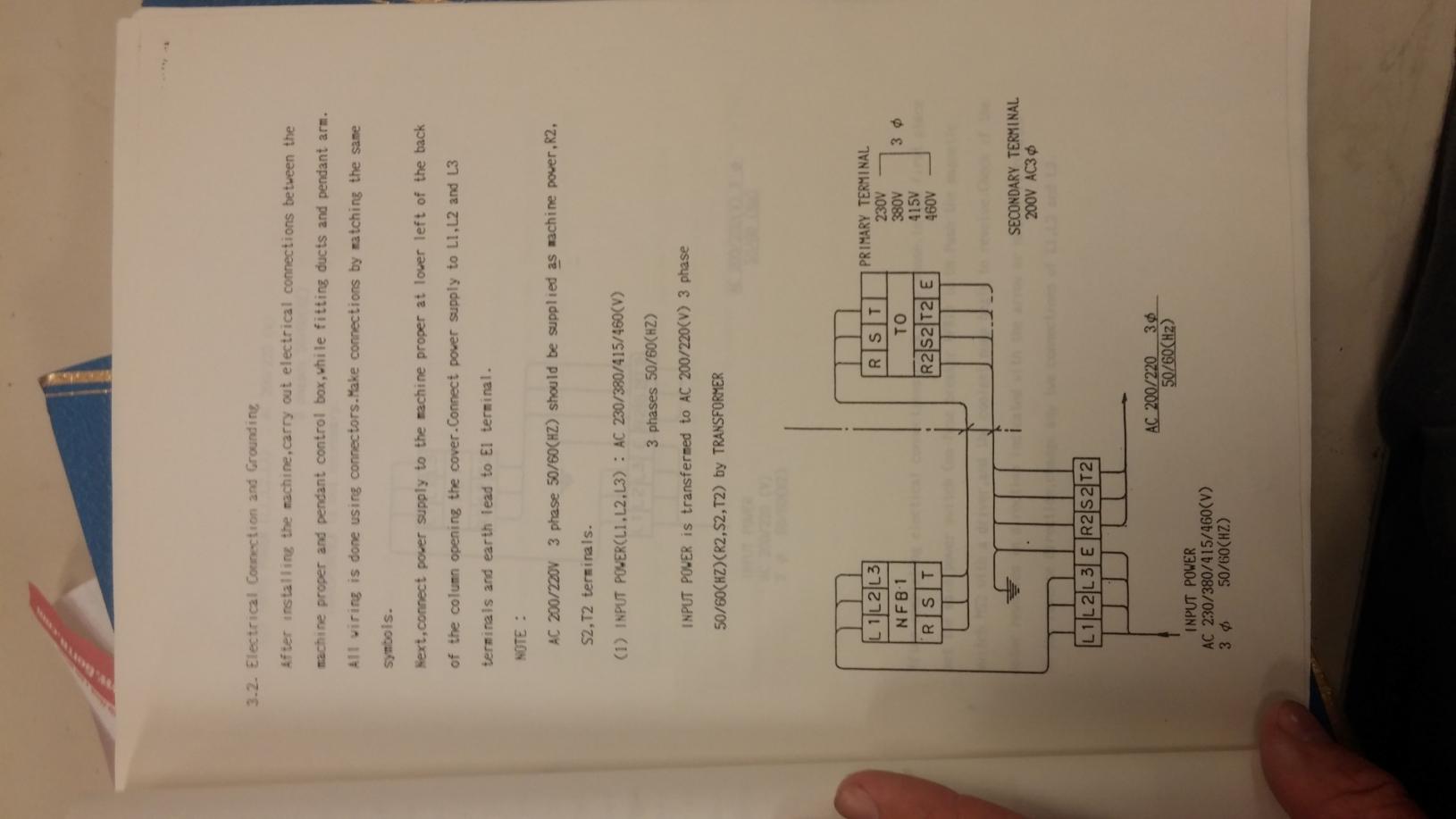 kit200v.jpg kit230v.jpg ... High Leg Terminal In Diagram ...
