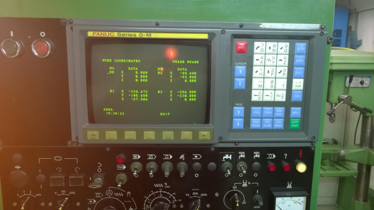 safe method to setup tools and parts in fanuc 0
