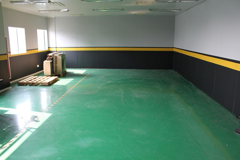No Panic Floor Being Repainted In Dark Gray This Wed, Of Course.