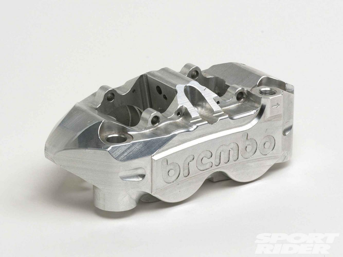 D Monoblock Brake Caliper Machining Z Brembo Factory Monobloc Calipers