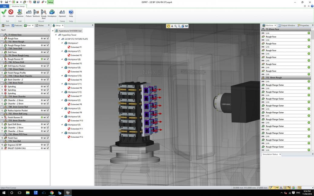 Macros for setting fixture work offsets