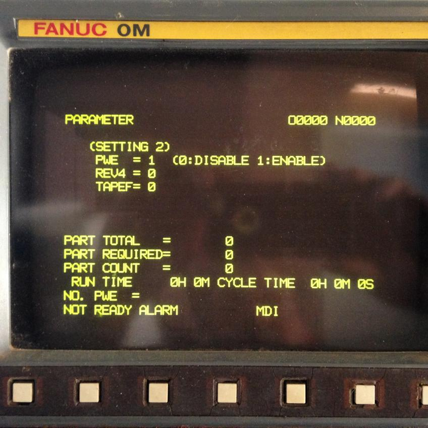 inputting parameters fanuc om b rh practicalmachinist com fanuc ot parameter manual download fanuc ot parameter manual download