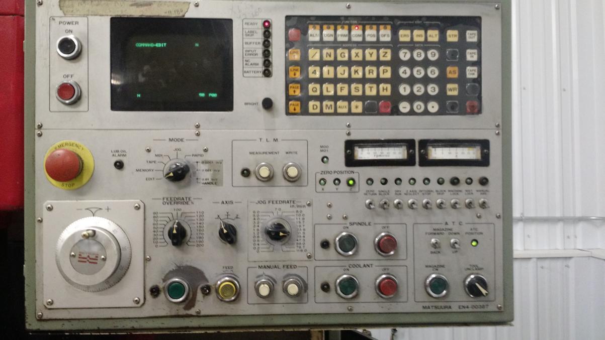 matsuura mv 500 yasnac mx1 control rh practicalmachinist com Yasnac MX3 Manual