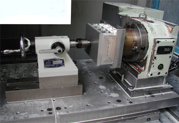 Vertical 4th Axis Rotary Tombstone