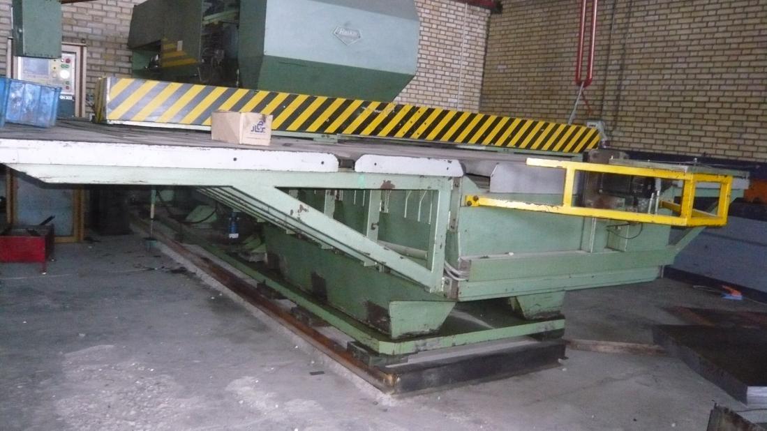 Raskin Sa Rt152 Cnc Turret Punch Press