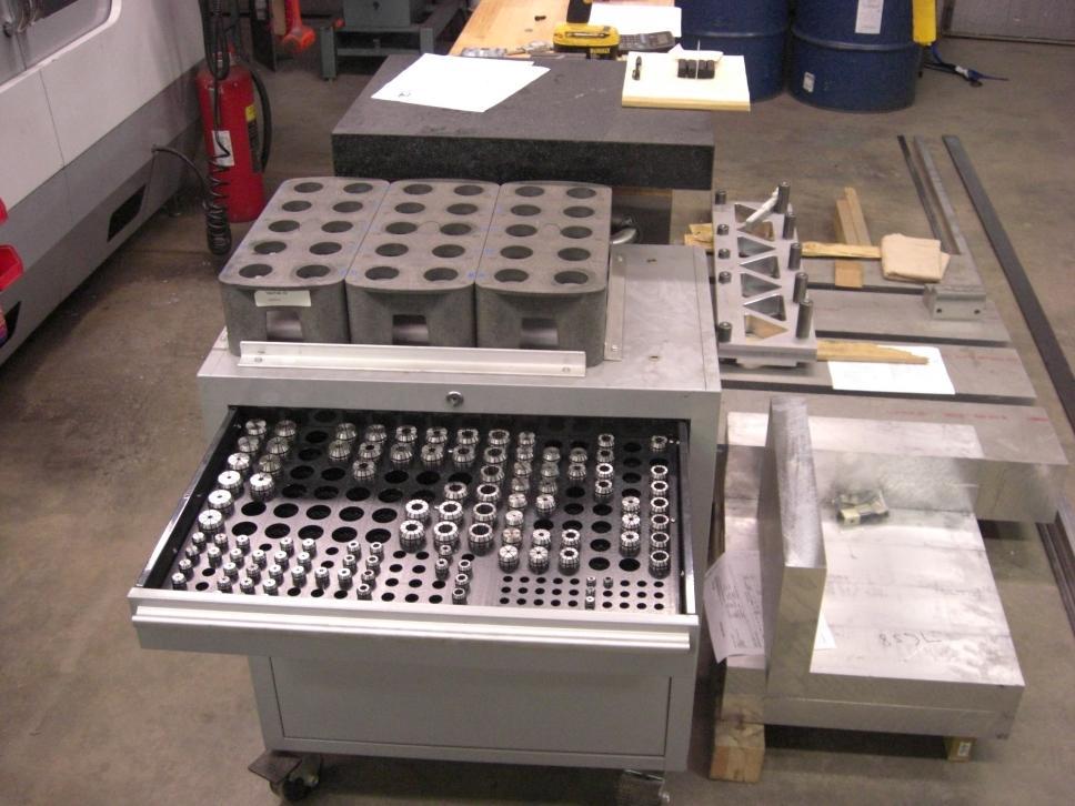 air tool storage rack