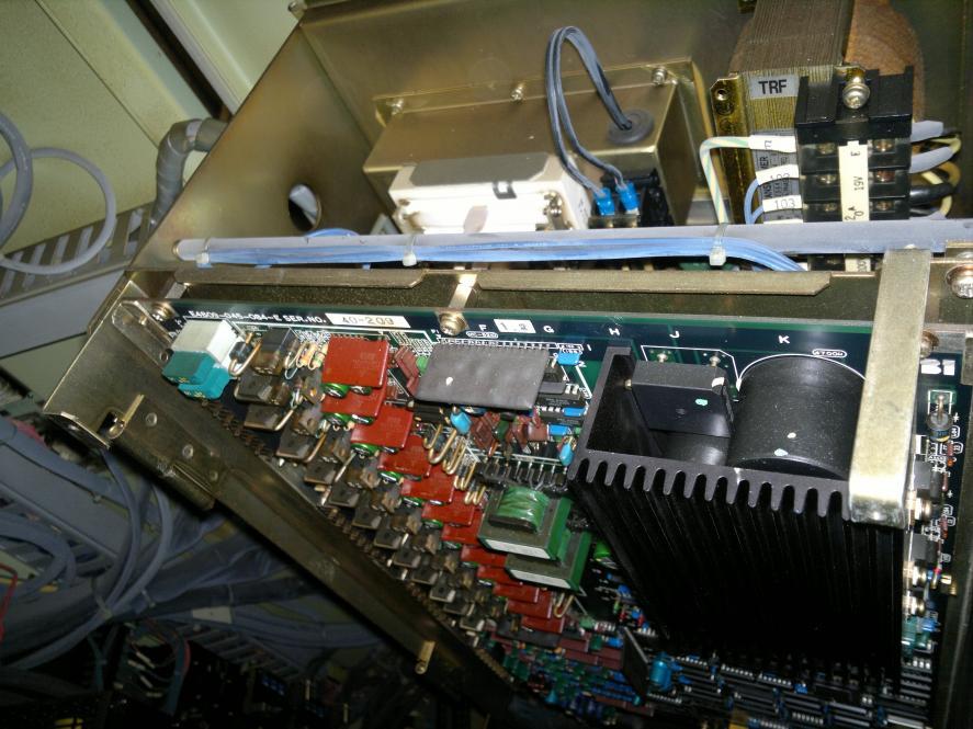 okuma lb12 alarm 110 spindel drive unit