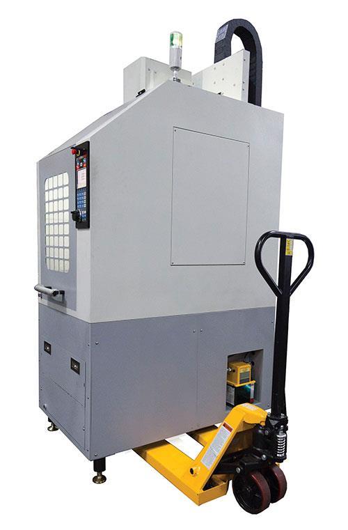 Small Cnc Mill >> New Small Footprint Cnc Mill Sw Industries Trak 2 Op Pallet Jack