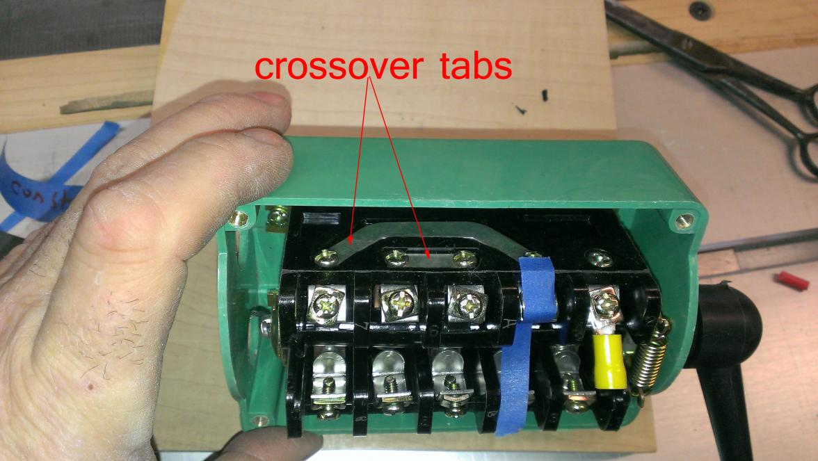 D Phase Drum Switch Wiring Help Requested Crossover Tabs on 240 Volt Single Phase Wiring Diagram