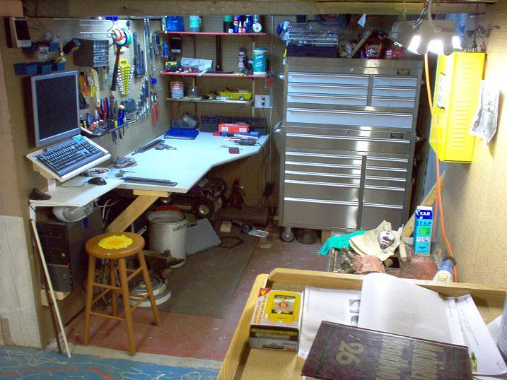 Small Basement Workshop