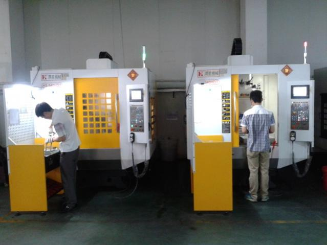 machine shop in china
