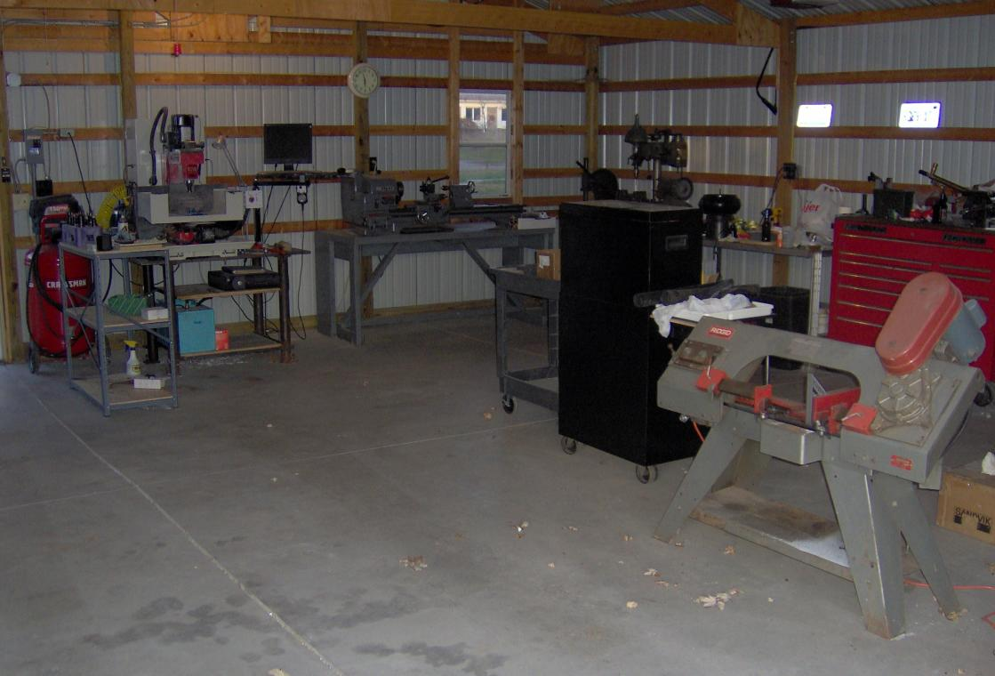 target tool and machine my shop story. Black Bedroom Furniture Sets. Home Design Ideas