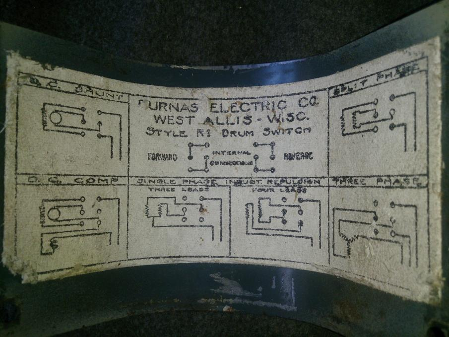 Diagram Leeson 110 Motor Hookup With Reversing Switch