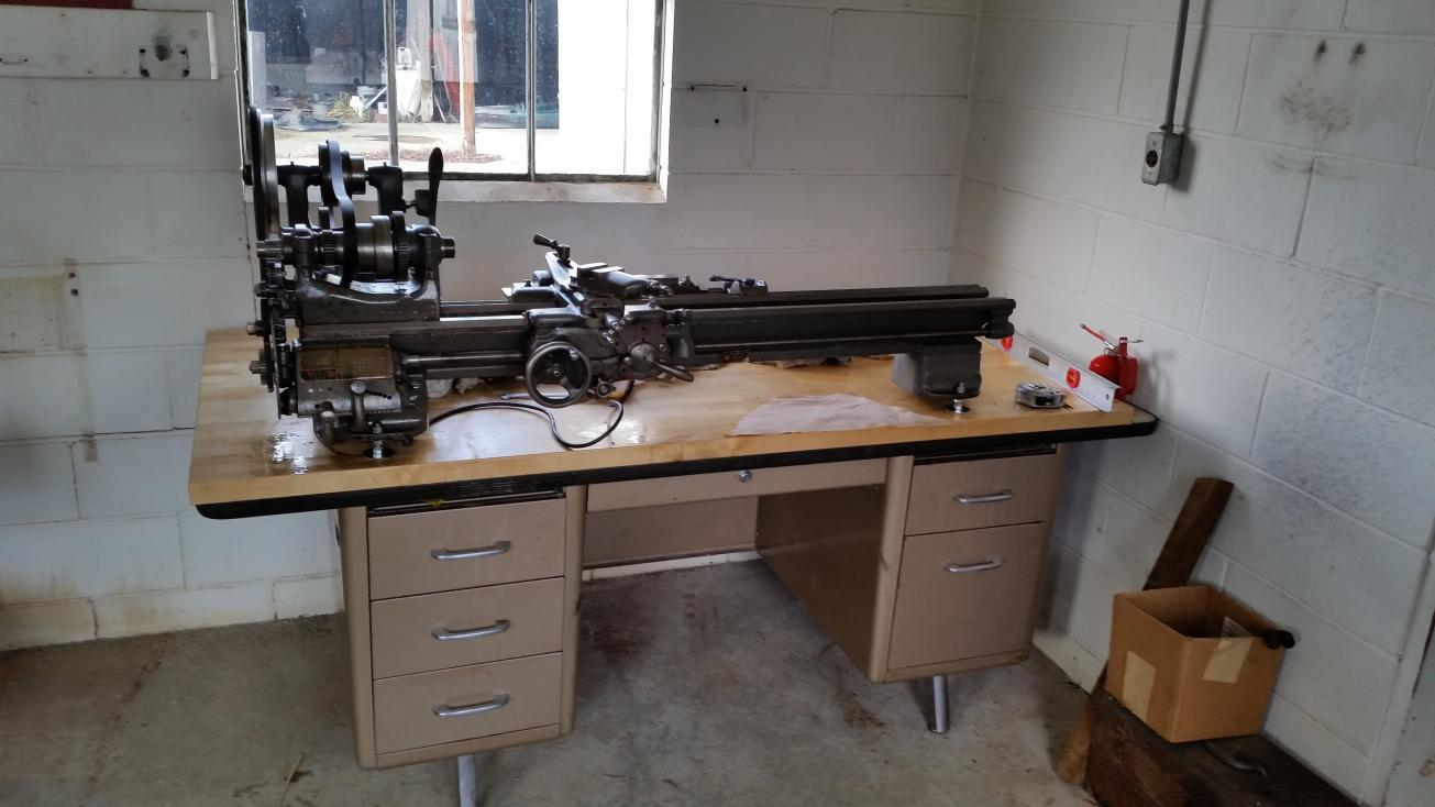 Lathe Support Table