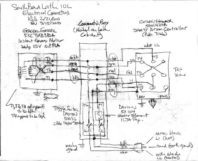 Wiring Diagram Drum Switch : Need help wiring motor drum switch