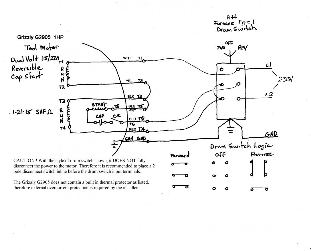 139491d1431556406 9a motor drum switch wiring help furnacetype1drumsw 230v1 grizzlymotor reversing drum switch wiring diagram wiring diagram and dayton 2x441a wire diagram at soozxer.org