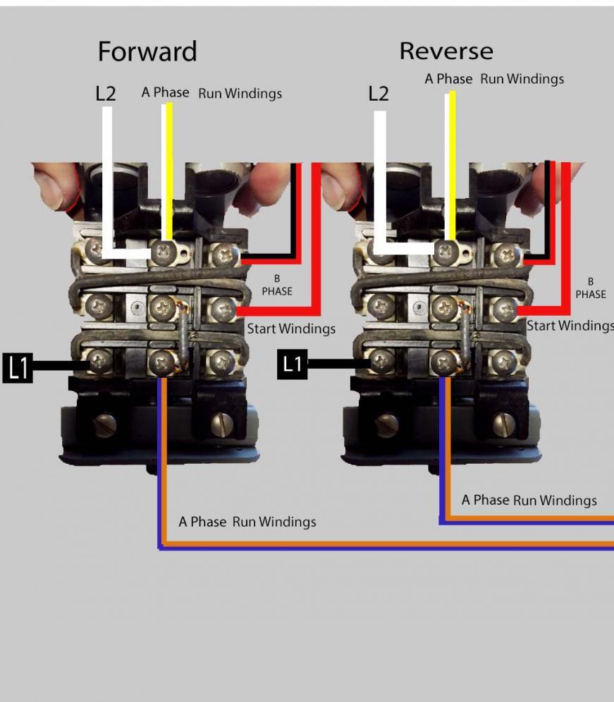 Wiring Help Needed Baldor 5 Hp To Cutler Hammer Drum Switch 10 Electric Motor Diagram Attachment 147289 147251