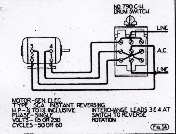 Ge Ac Motor Wiring Diagrams Wiring Diagram