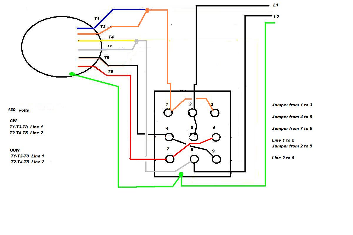 ge motor gt cutler hammer switch wiring Reversible AC Motor Wiring Diagram  Drum Switch Wiring Diagrams Three-Phase