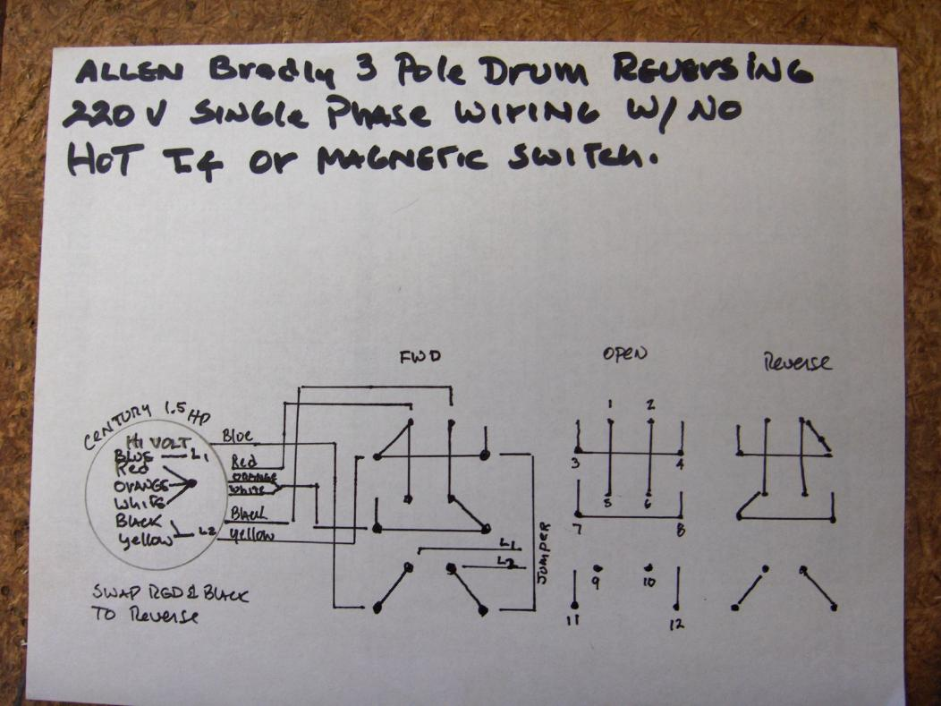 163689d1455973897 how do i wire up my drum switch 220v single phase hpim3889 how do i wire up my drum switch? (220v, single phase) wiring diagram 220 volt outlet at soozxer.org